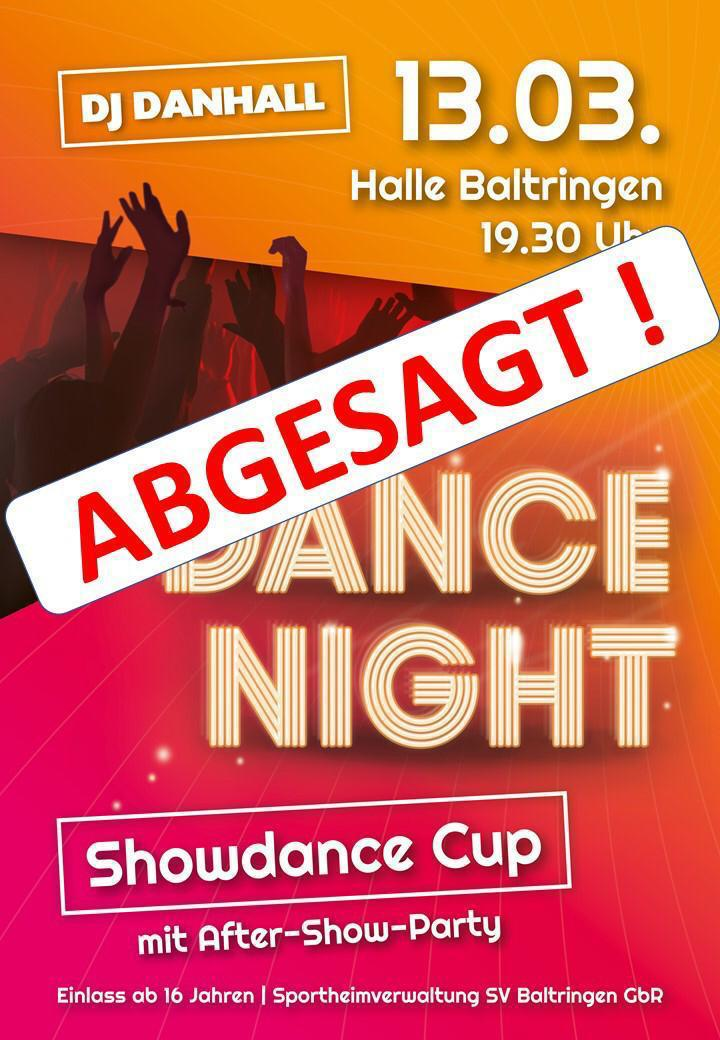 Showdance20 Absage